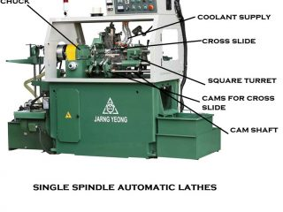 157a6 01 single spindle automatic lathe parts of automatic lathe advantages of automatic lathe Manufacturing Engineering Single spindle automatic Lathe