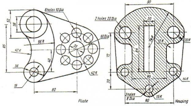 1d3c0 03autocaddrawingsdesignexercises AutoCAD Commands AutoCAD