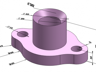 49f5a 01 gland solidworks model solidworks basic tutorial SolidWorks Solidworks Tutorial