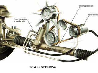 55525 01 power stering system steering mechanism advantages of Electric power steering Automobile Engineering power steering
