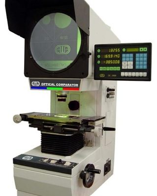 01-horizontal vision gauge digital optical comparator-horizontal standard type-optical measuring system-DC 3000 data processing system