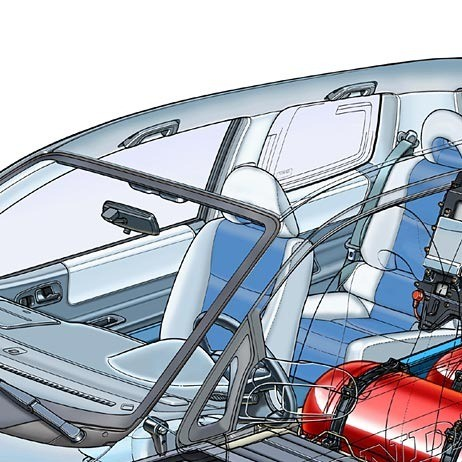 01-fuel cell car-cabin