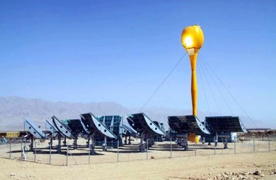 01-concentrating solar power plants-CSP Technologies-Concentrating solar power technologies-direct solar radiation process-parabolic solar trough collectors