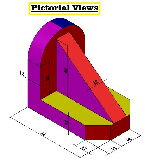 645d9 01 autocad orthographic views orthographic drawings autocad orthographic mode AutoCAD orthographic views in autocad