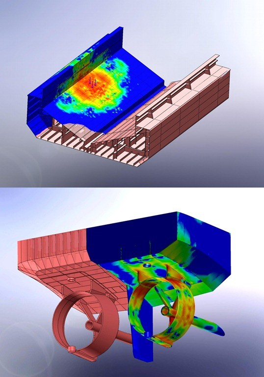 Material handling equipments analysis, Solidworks stress analysis, Solidworks simulation on material handling equipments