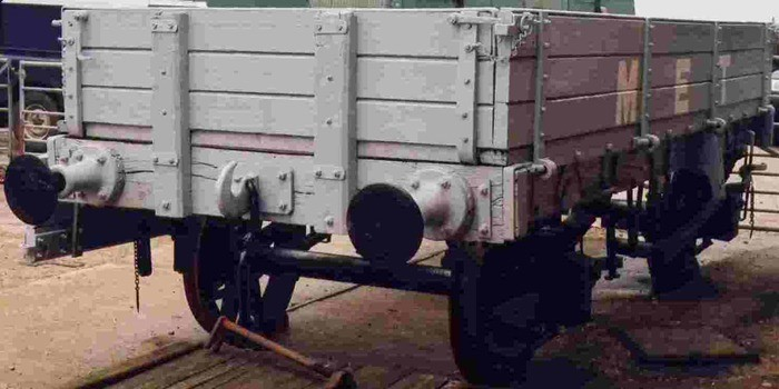 Bulk load material handling equipments examples are railway cars and railway wagons