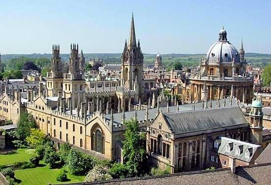 01- University of Oxford - Campus - Top 10  - Best Mechanical Engg University
