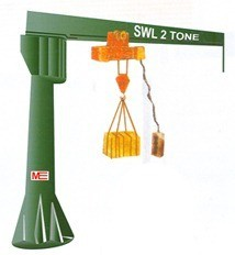 hoisting-equipments-pillar-type-jib-crane-cantilever-crane