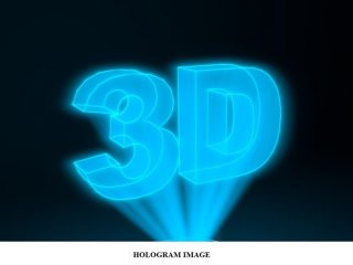 b8850 01 holography hologram image Construction or recording of a hologram Optics 3D Holography
