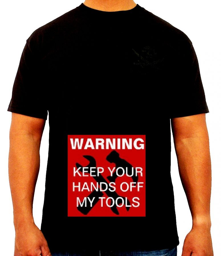 01-keep your hands off my tools - mechanical engieer t shirt