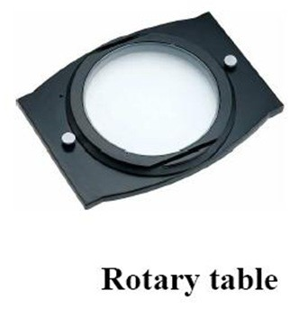 01-rotary table-accessories for digital optical comparator