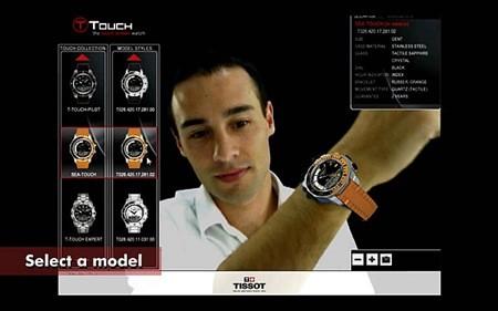 01-tissot_printscreen_augmented_reality-watch selection using Virtual environment technology-real life photos
