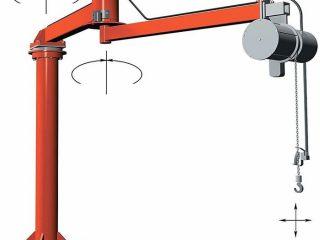 d0d98 01 wall mounted jib crane for handling light weight materials Crawler cranes Jib Crane Jib crane