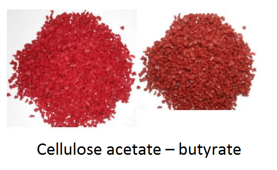 01 - thermoplastic - Cellulose acetate - butyrate