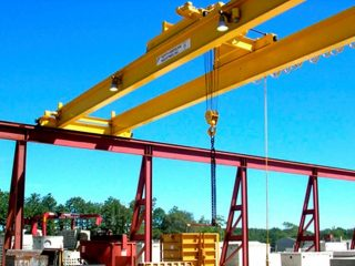 Design of crane - double-girder-eot-cranes-bridge-crab-hoisting-machinery-set-gantry-girder-rail-on-the-bridge